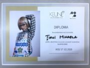Tifui Mihaela diploma Masterclass Glam Blonde 2020